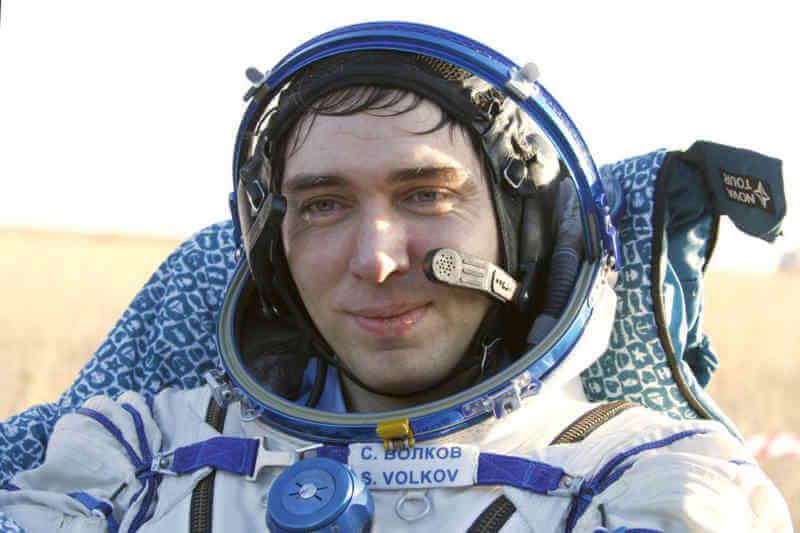 Космонавт Сергей Волков привёз в Тамбов подарки из космоса