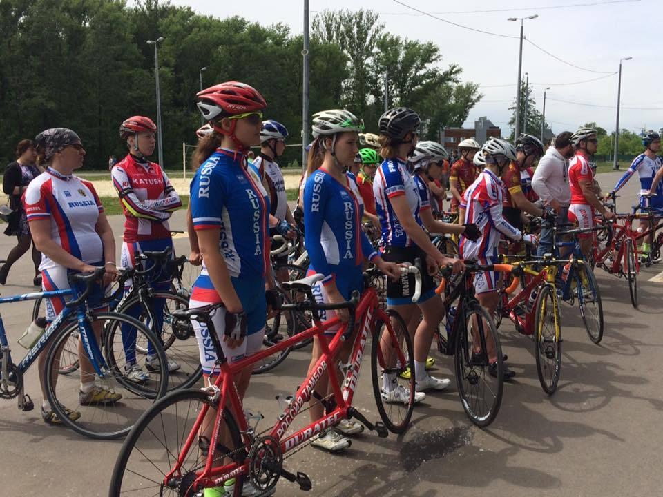 На Тамбовщине проходит Кубок России по велоспорту тандем-шоссе