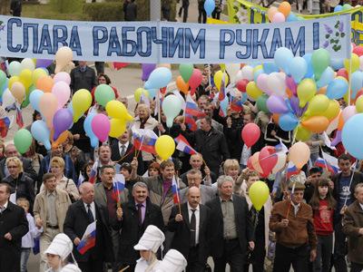 Тамбовщина встретит Первомай праздничными шествиями и концертами