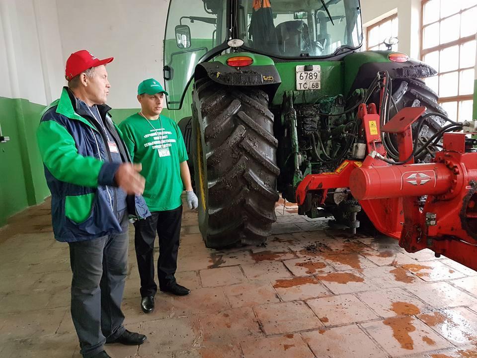 Тамбовские трактористы признаны лучшими в России
