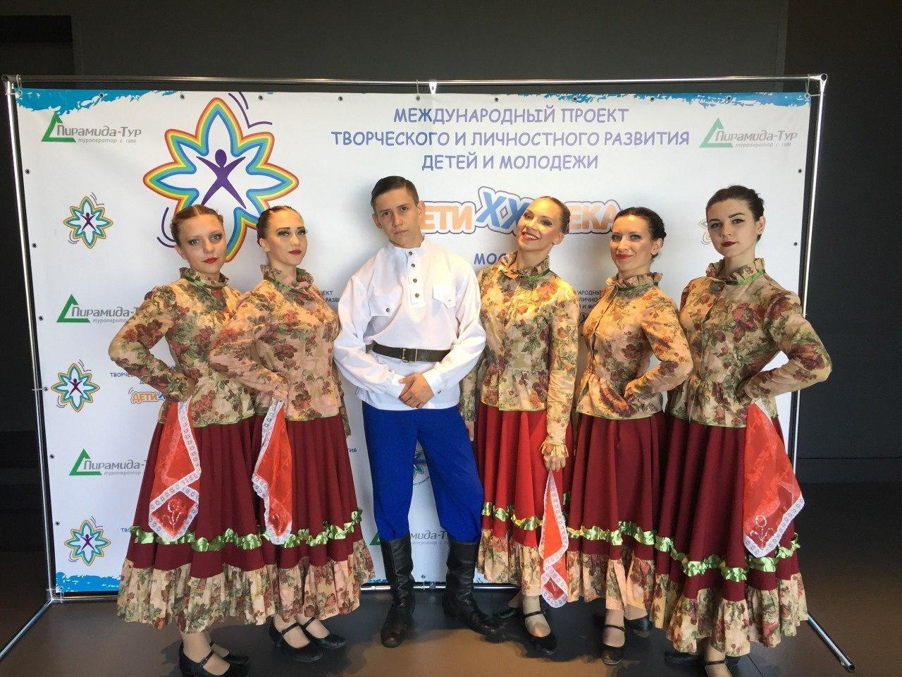 Танцоры Тамбовского колледжа искусств заняли призовые места на международном фестивале «Невские перспективы»