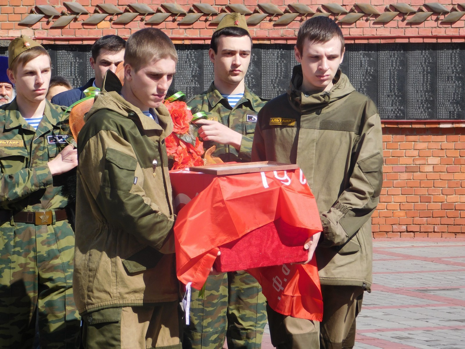 Студенты колледжей и техникумов Тамбовщины заступили на «Вахту Памяти - 2017»