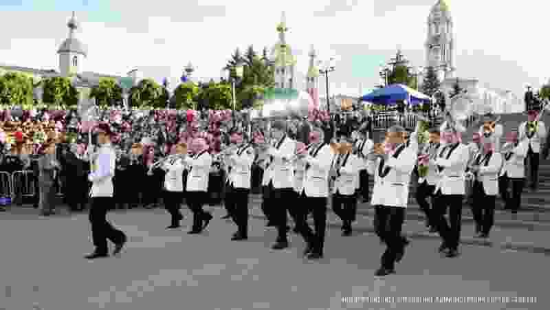 Фестиваль духовых оркестров 2017
