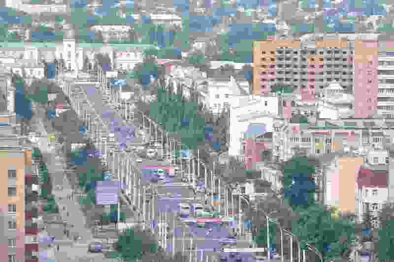 Фото Тамбова с высоты