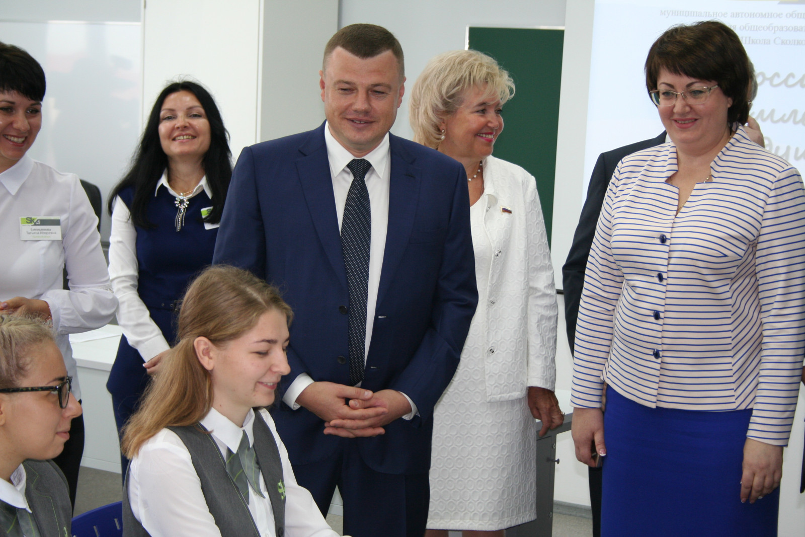 Сегодня торжественно открыли школу «Сколково-Тамбов»