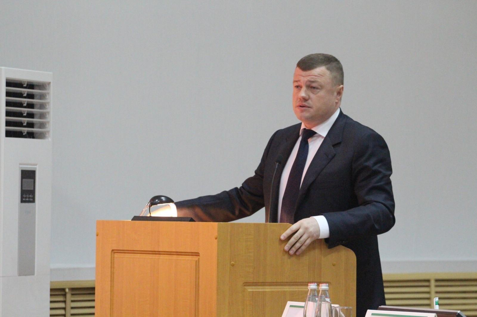 Александр Никитин выступил с докладом о тамбовском опыте работы природоохранной сферы на Совете при полномочном представителе Президента России в ЦФО