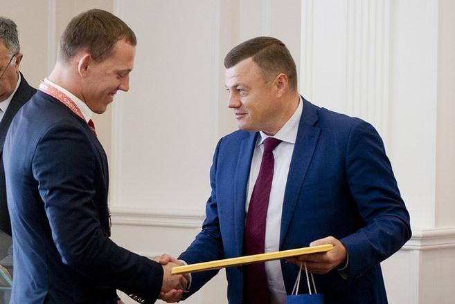 Губернатор Александр Никитин поздравил тамбовских спортсменов с успешным выступлением на XXIII Сурдлимпийских летних играх