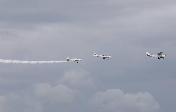 В Тамбове состоялся традиционный авиационный праздник