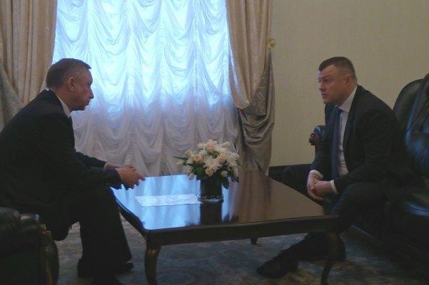 Александр Никитин и Александр Беглов обсудили исполнение майских Указов Президента РФ в Тамбовской области