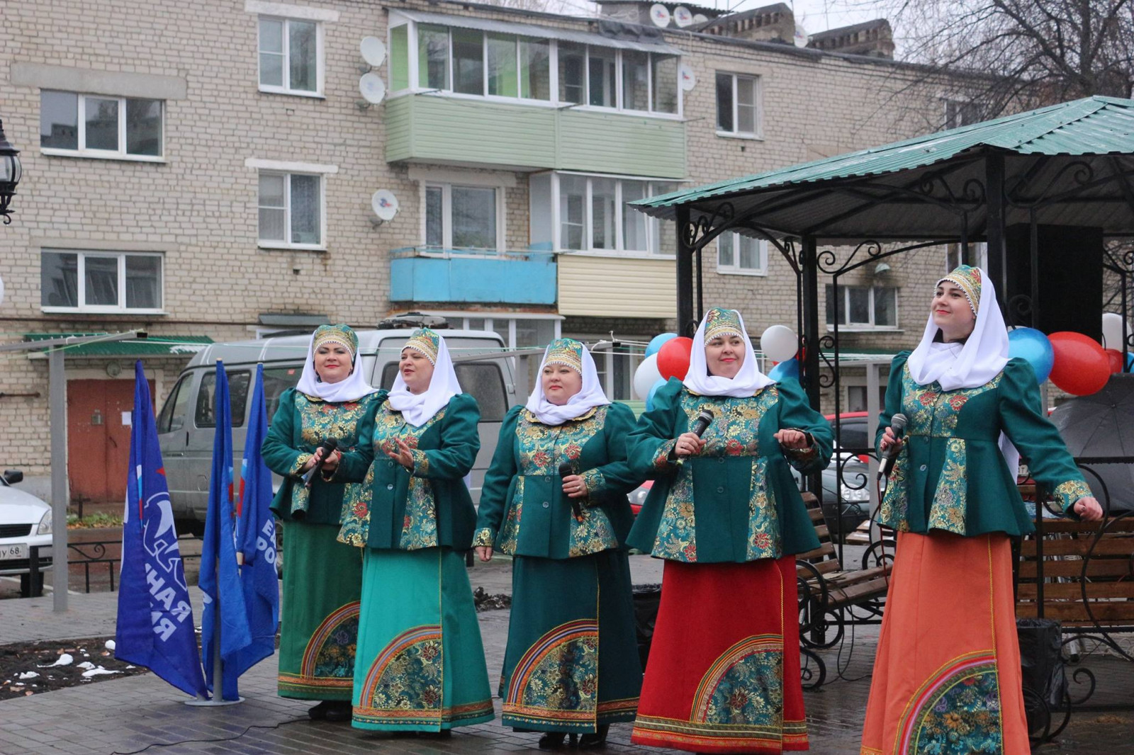 Марафоном праздников дворов Тамбовщина отмечает завершение программы благоустройства