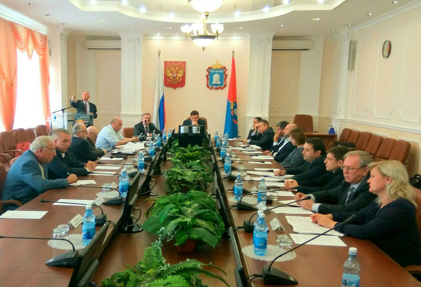 В администрации области обсудили вопросы разработки месторождения «Центральное»
