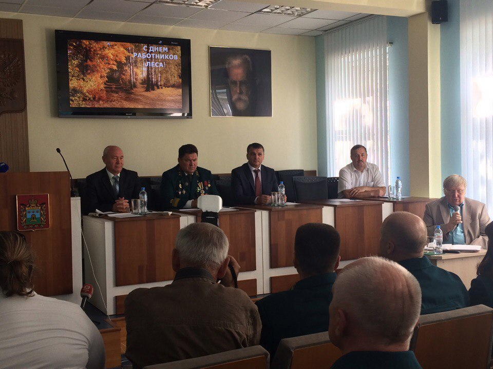 Труженики лесного хозяйства Тамбовской области отметили профессиональный праздник