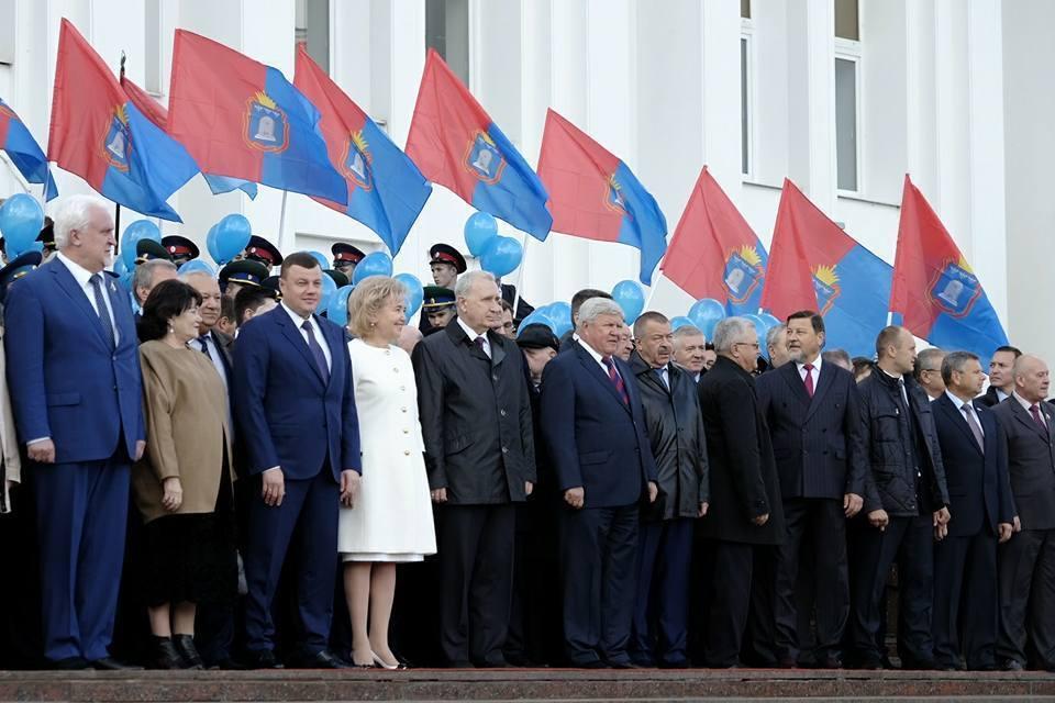 Тамбовская область принимает поздравления