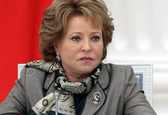 Валентина Матвиенко поздравила жителей Тамбовской области с днем ее образования