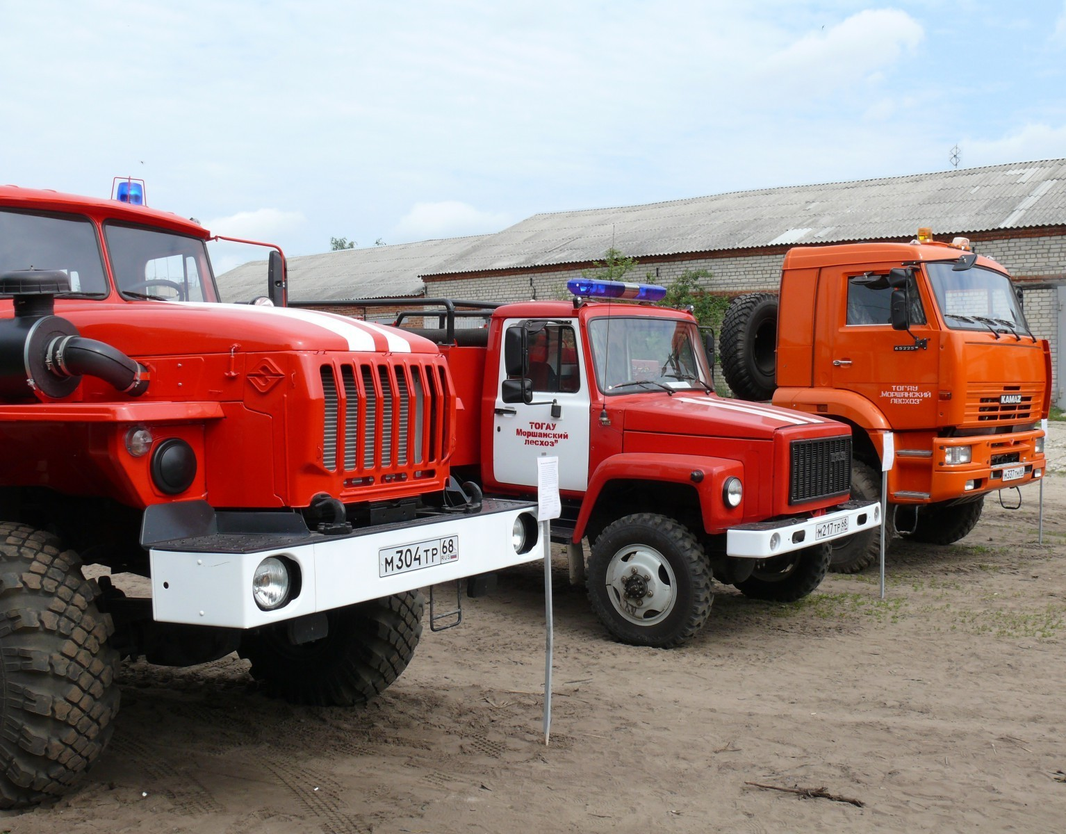 Тамбовские лесоводы успешно ведут противопожарную профилактику