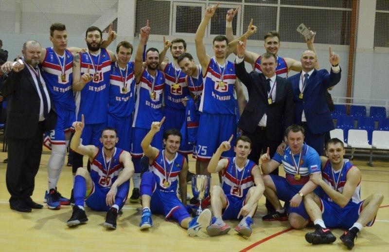 Губернатор Александр Никитин поздравил баскетбольный клуб «Тамбов» с блестящей победой
