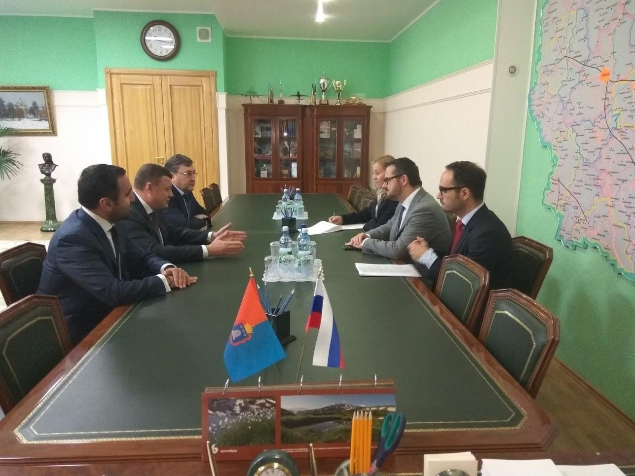 Тамбовская область развивает сотрудничество с Великим Герцогством Люксембург