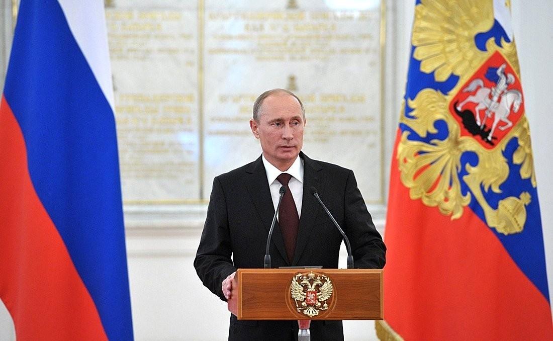Президент РФ Владимир Путин поздравил тамбовчан с юбилеем Тамбовской области