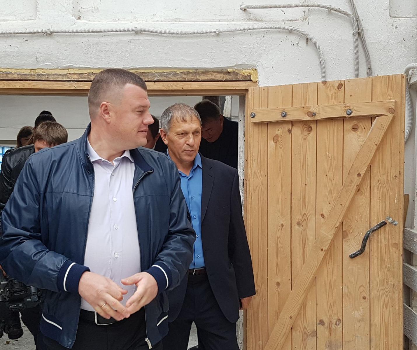 Губернатор Александр Никитин обещает поддержку хозяйствам, которые заботятся о селе