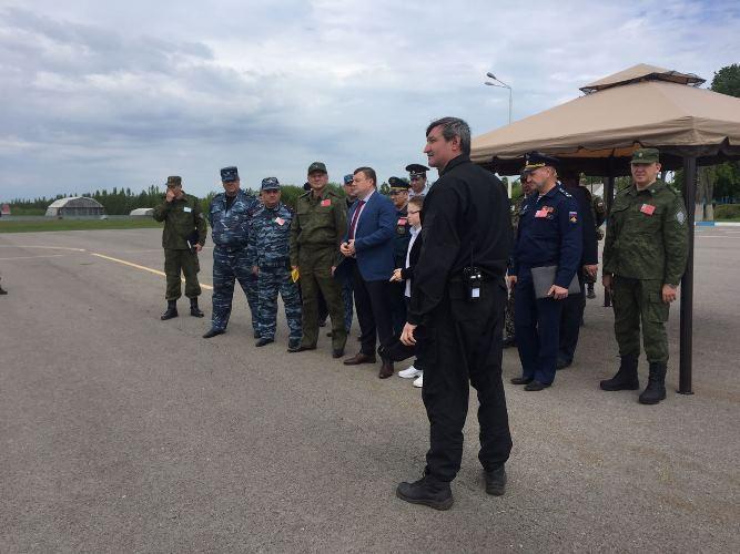 Учения в аэропорту «Тамбов»: террористы обезврежены, заложники освобождены