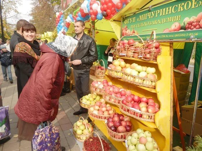 Ярмарочная торговля позволяет расширять рынки сбыта местным производителям