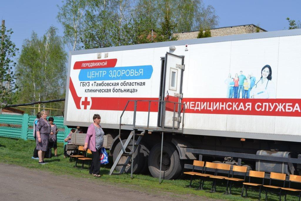 Автопоезд «Забота» сделал остановку в селе Никольское Рассказовского района
