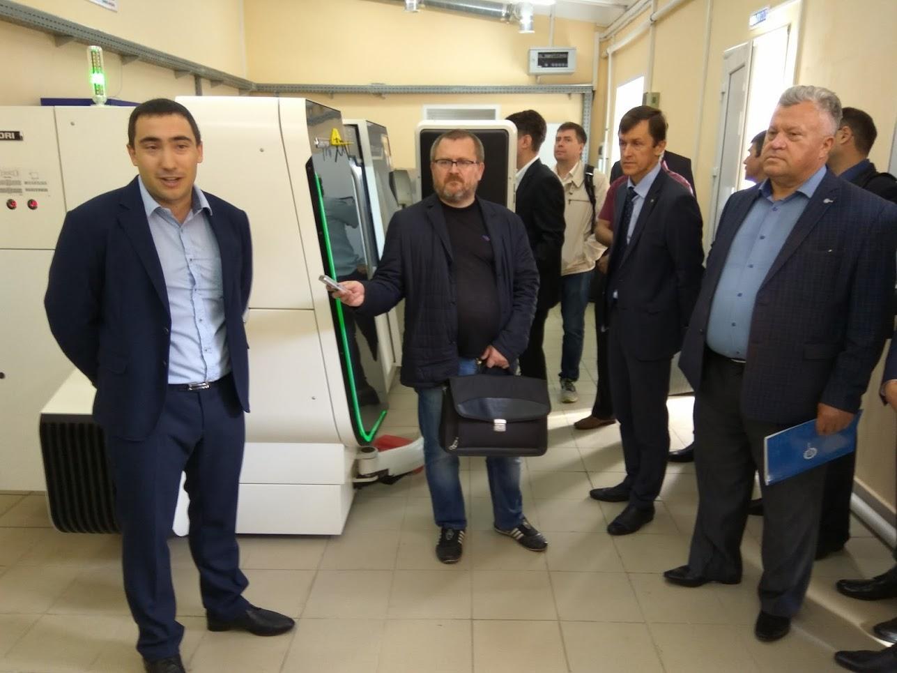 В Тамбове открыли центр коллективного пользования «Цифровое машиностроение»
