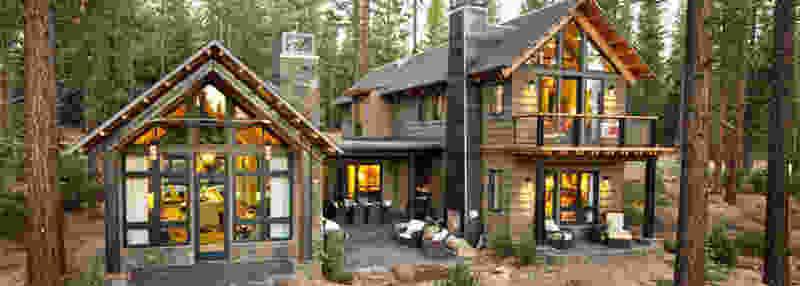 Виды загородных домов