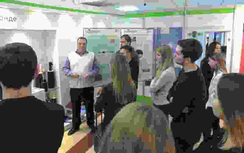 В демонстрационно-образовательном центре  «Энефтика» состоялся «круглый стол» по энергосбережению с магистрантами ТГУ имени Г.Р. Державина
