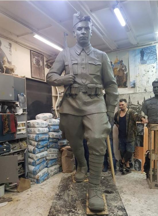 Первый в этом году мемориал павшим воинам откроется в Моршанском районе