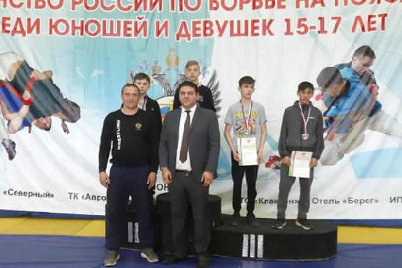 Тамбовский борец победил на первенстве России