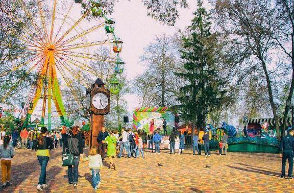 Тамбовский парк культуры готовится к открытию сезона
