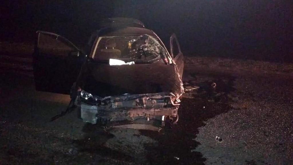 """В Мичуринском районе водитель """"Мицубиши"""" врезался в ограждение"""