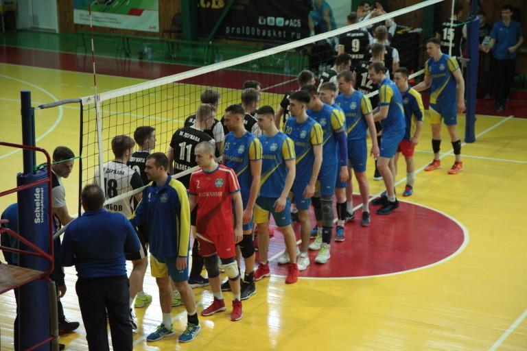 """Волейболисты """"Тамбова"""" выиграли чемпионат ЦФО"""