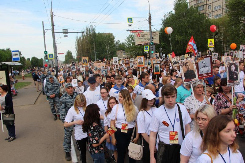 9 мая в Тамбове не было допущено нарушений общественного порядка