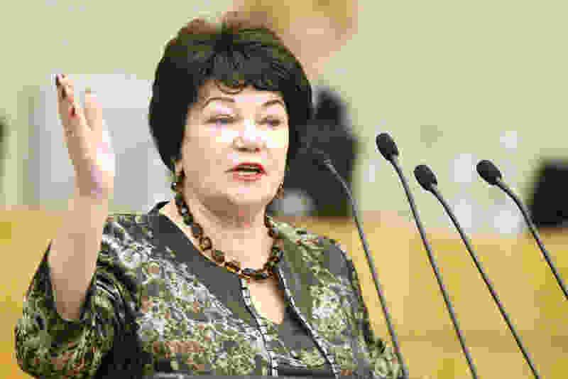 Депутат Госдумы от Тамбовской области Тамара Плетнёва: Россияне женятся только ради застолья