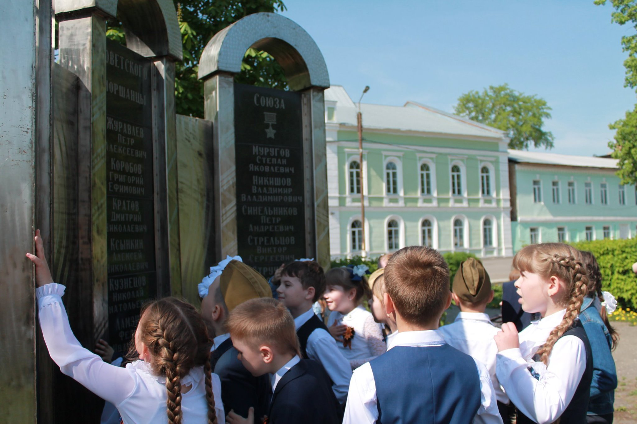 Моршанск готовится к празднованию Дня Победы