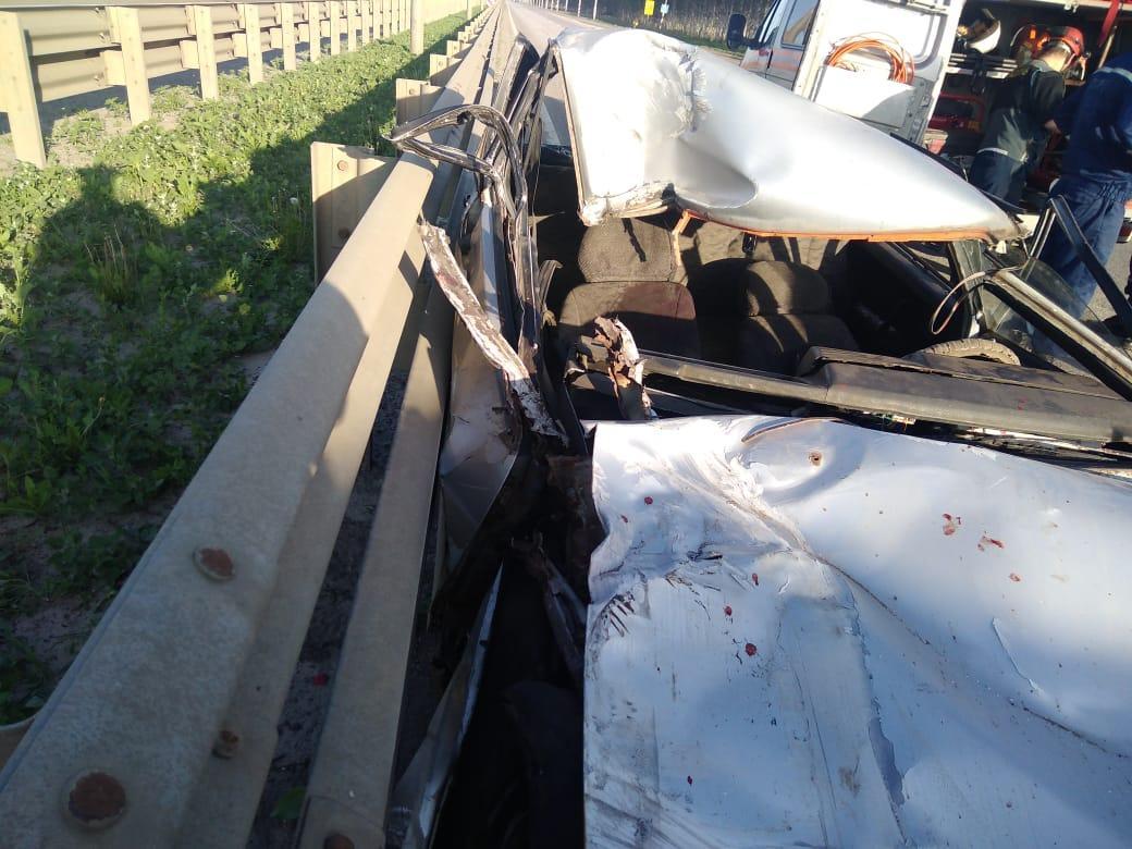 Под Тамбовом ВАЗ догнал грузовую ГАЗель: есть погибшие