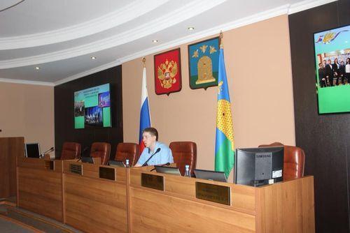 Состоялось расширенное заседание Молодежного Совета при Тамбовской городской Думе