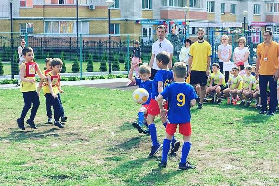 Среди тамбовских команд детсадов по футболу определили сильнейших