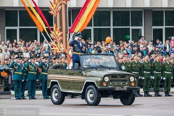Стала известна программа праздничных мероприятий в Тамбове на 9 мая