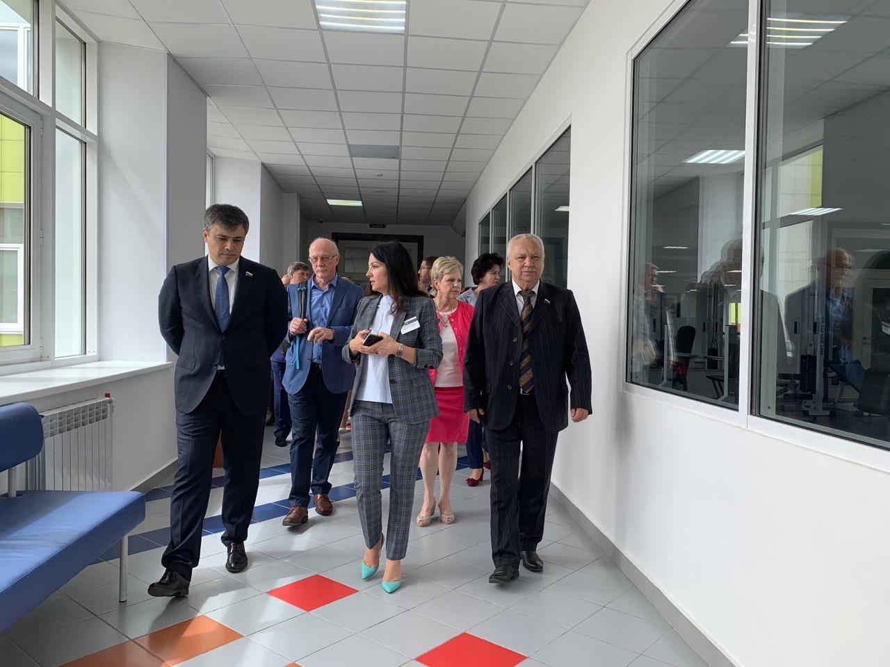"""Тамбовская школа """"Сколково"""" впечатлила депутатов Госдумы"""