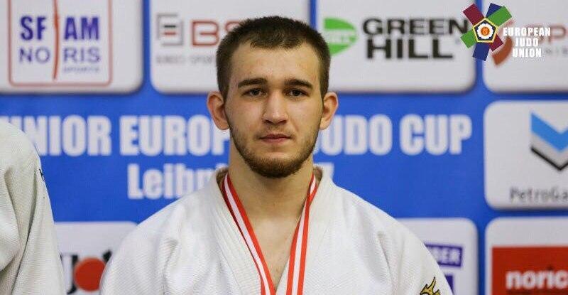Тамбовский дзюдоист Виталий Плешаков привёз серебряную медаль с Кубка Европы