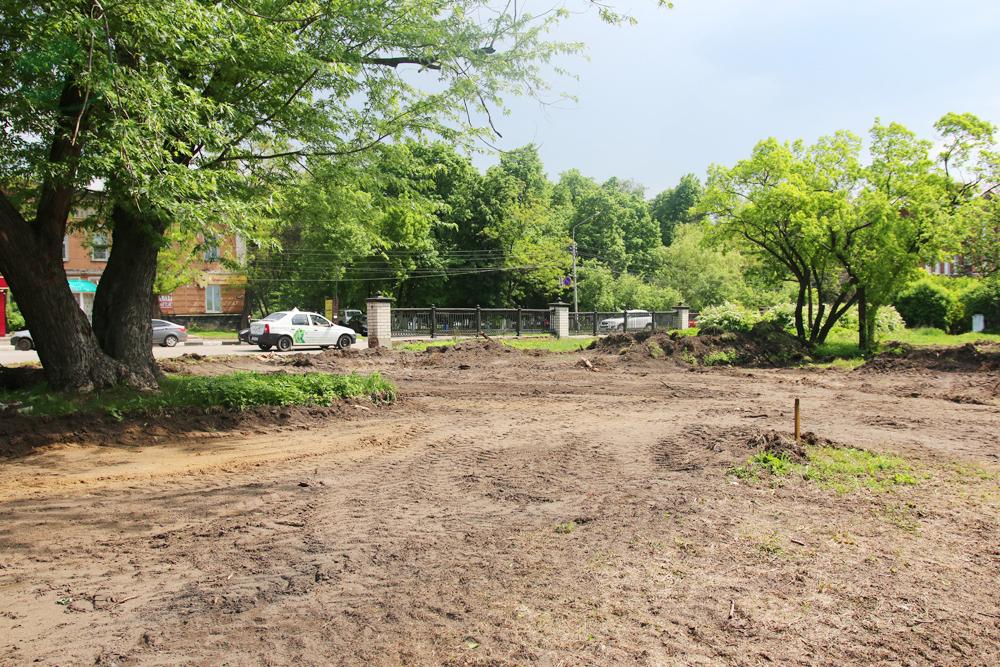 В Мичуринске бульдозером уничтожили экспериментальные деревья