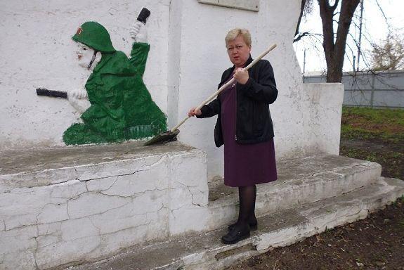 В Рассказово приводят в порядок памятники погибшим воинам