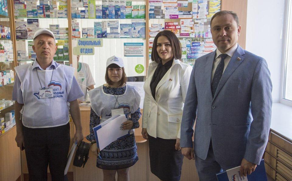 В рейд с тамбовскими народными контролёрами вышла депутат Госдумы Анна Кувычко