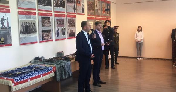 ВТамбове открылась передвижная планшетная выставка «Казачество нагосударевой службе»