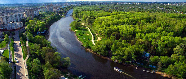 ВТамбове за200млнрублей расчистят 21километр реки Цны