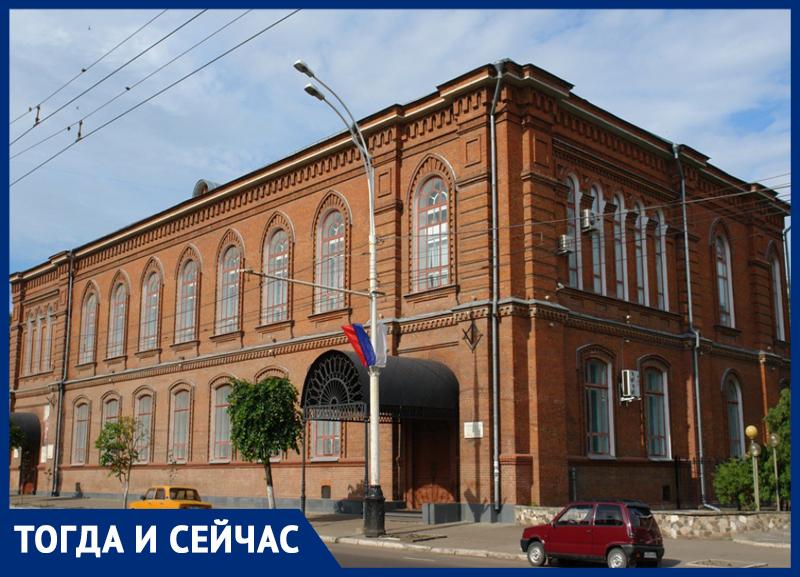 Здание картинной галереи в Тамбове - яркая достопримечательность 19 века