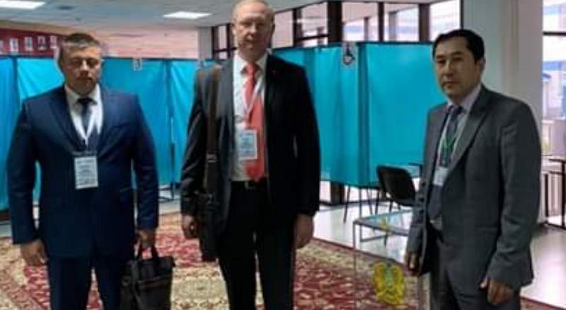 Делегация Тамбовской области принимает участие в наблюдении на выборах президента Казахстана